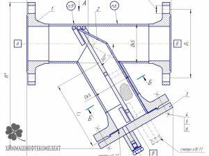 Фильтр сетчатый ФС-IX Y-образный