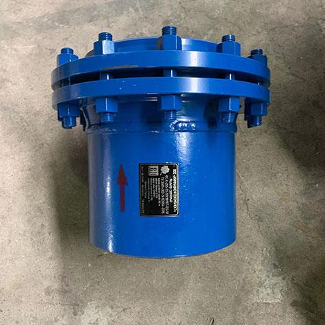 Фильтр сетчатый конусный ФС-К-250-1,0-12Х18Н10Т-0,5-У1 из нержавеющей стали с ответным фланцем по стандарту ASME